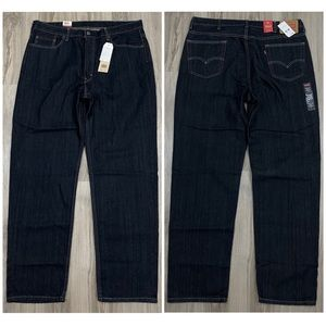 NWT Levis 550 Relaxed Fit Denim Jeans